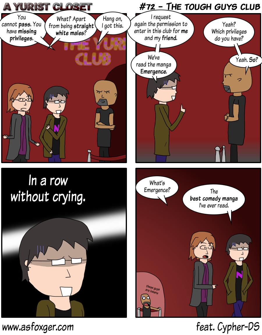 The tough guys club